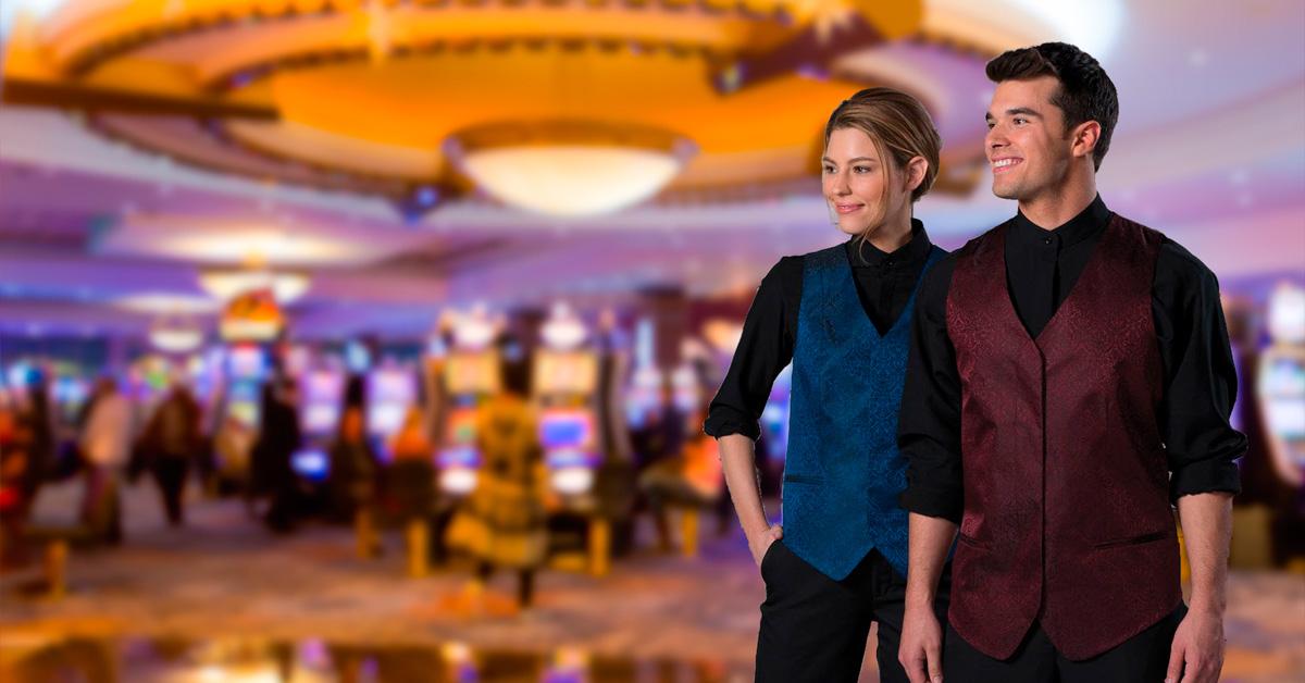 uniformes de casino